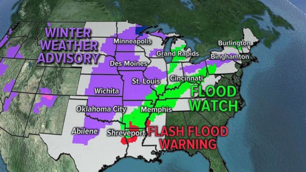 Midwest may see record flooding as rain continues