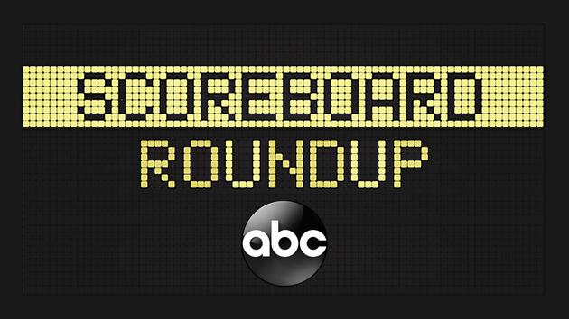 Scoreboard roundup -- 5/13/18