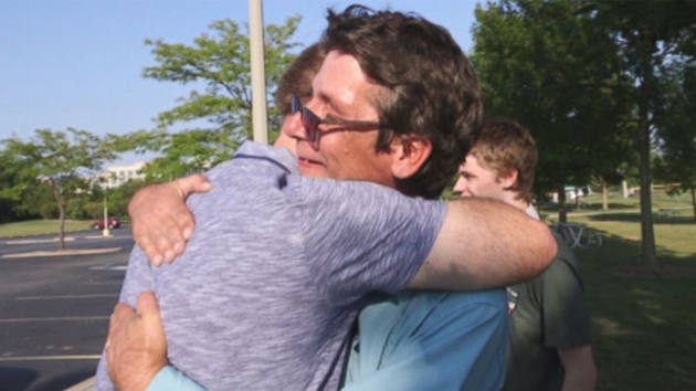 Illinois man found in a cardboard box as an infant reunites with birth family 53 years later