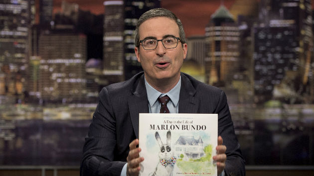 "John Oliver's ""children's book"" takes aim at Vice President Pence's bunny, views on homosexuality"