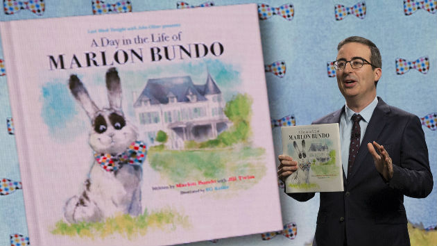 John Oliver's spoof of VP Pence's bunny book sells out