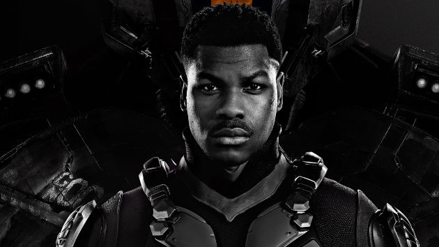 "John Boyega in the driver's seat in ""Pacific Rim: Uprising"""