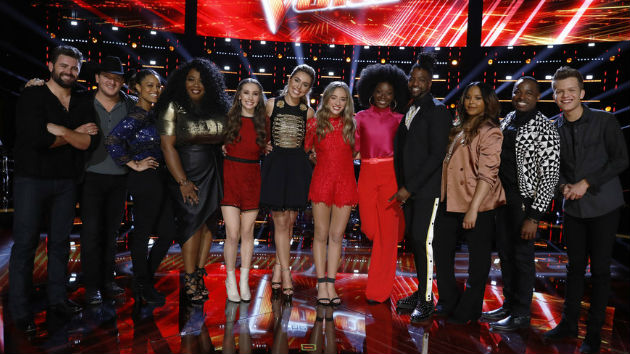 """""""The Voice"""" recap: The top 12 artists are revealed"""