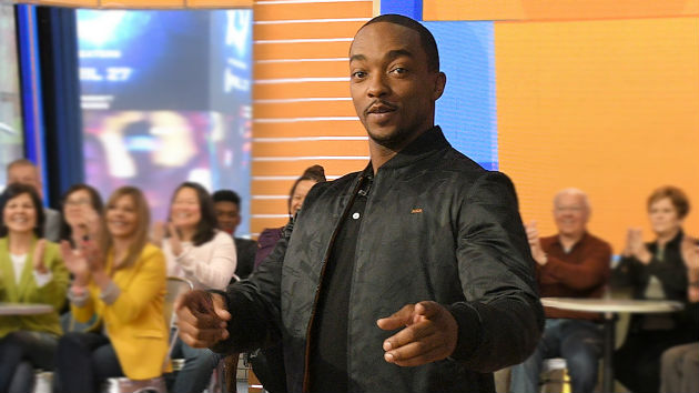 """Anthony Mackie breaks down the """"amazing story"""" of 'The Hate U Give' and why he """"wanted"""" to be in the film"""