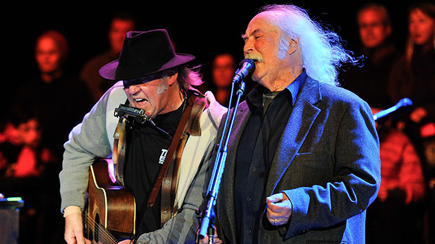 """David Crosby offers to lend """"harmonies"""" to Neil Young & Crazy Horse shows"""