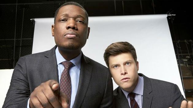"SNL ""Weekend Update"" anchors Colin Jost and Michael Che to team up as Emmy co-hosts"