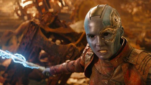 """Avengers: Infinity War"" star Karen Gillan talks ""terrifying"" villain, Thanos"