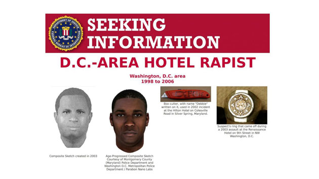 Vexed for years by elusive serial rapist, D.C. authorities indict a DNA sample