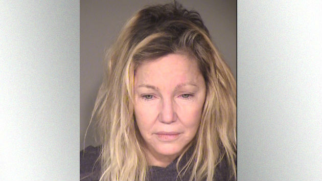 Heather Locklear arrested for punching cop; kicking EMT after disturbance call