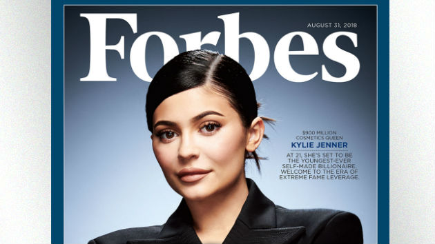 """Kylie Jenner makes the 'Forbes' cover as one of """"America's Richest Self-Made Women"""""""