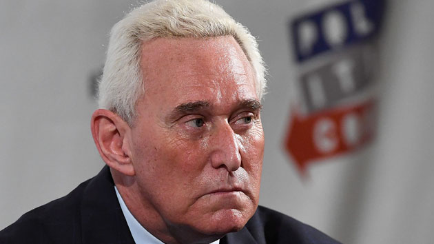 Roger Stone says he's the 'US person' mentioned in Mueller indictment