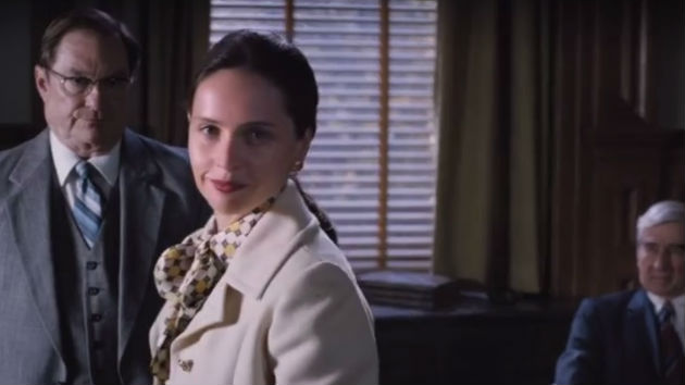 Felicity Jones debuts as Ruth Bader Ginsberg in 'On the Basis of Sex' trailer