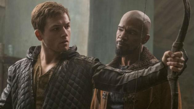 First Look: Taron Egerton and Jamie Foxx in 'Robin Hood'