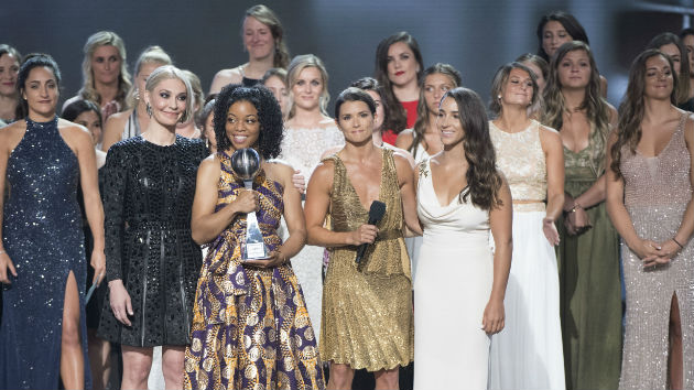 More than 140 survivors of sexual abuse honored with Arthur Ashe Courage Award at ESPYs