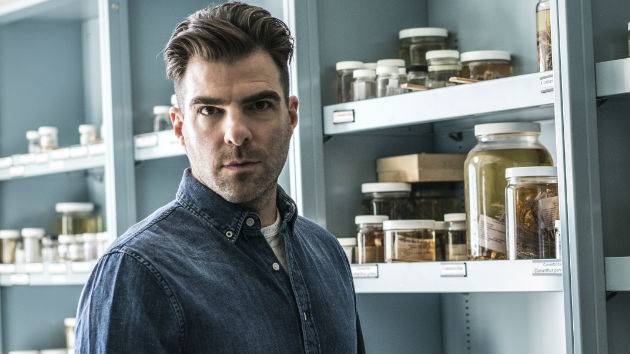 Standing in again for Leonard Nimoy, 'Star Trek' star Zachary Quinto goes 'In Search Of'