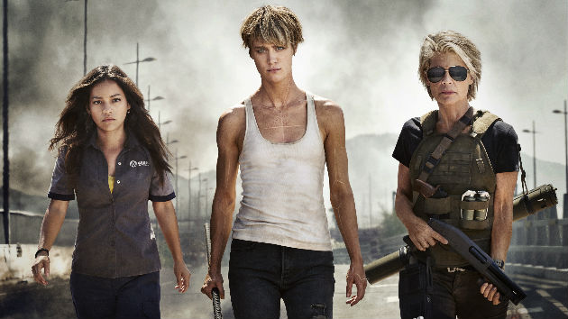 Holy S**t! Watch the potty-mouthed Comic-Con feature for R-rated sequel 'Terminator: Dark Fate'