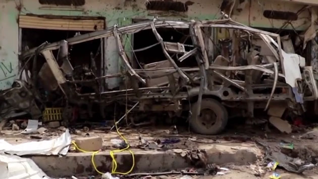 Saudi-led coalition airstrike kills dozens of children on bus in Yemen