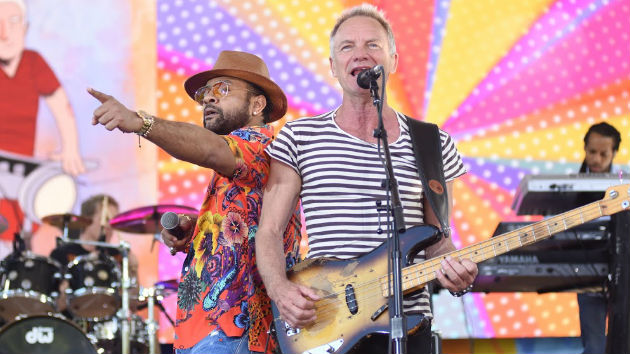 "Watch now: Sting and Shaggy release animated video for ""Just One Lifetime"""