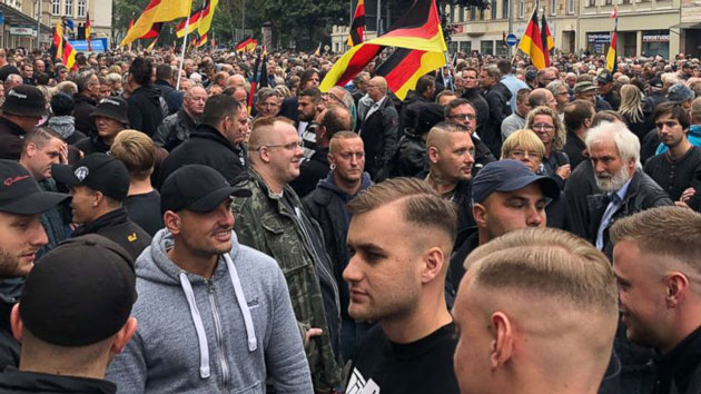 Right-wing protests fueled by anti-immigrant sentiment continue in Germany
