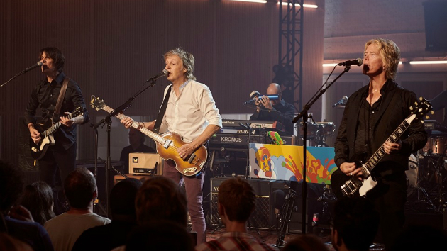 """Paul McCartney's summer Abbey Road """"Under the Staircase"""" performance now available on Spotify"""
