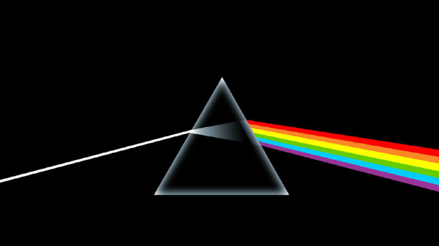 Pink Floyd's Dark Side of the Moon cover artwork for sale, along with many other famous rock images