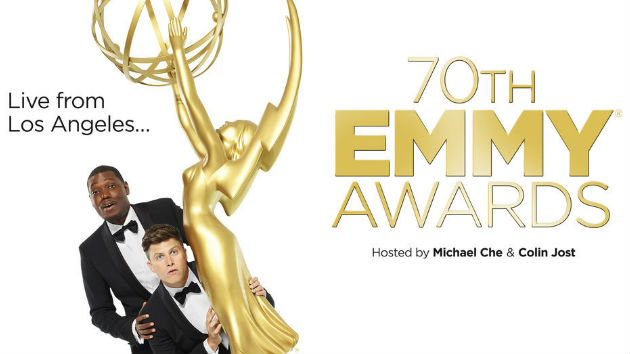 Emmys 2018: Hosts Colin Jost & Michael Che turn the show into the 'SNL' Awards