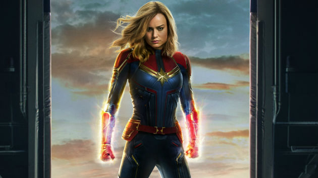 Watch now: First trailer for Brie Larson's 'Captain Marvel'