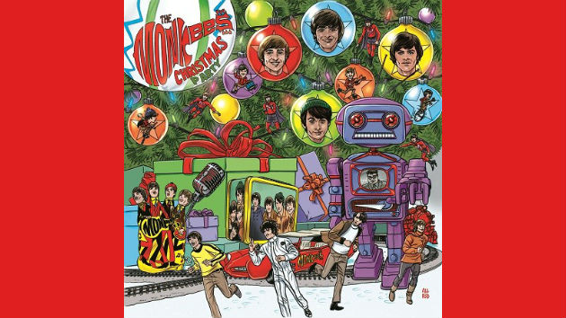 Monkees to release Christmas album, with Davy Jones vocal contributions