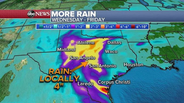 More Flooding Likely In Texas As Record Rains Continue To