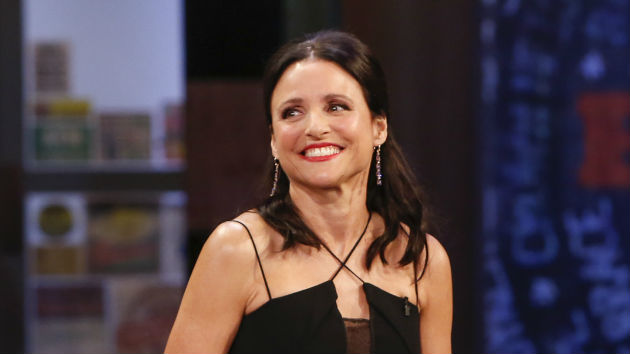 """Let's get this cancer sh** out of the way"" -- Julia Louis-Dreyfus talking beating breast cancer on 'Jimmy Kimmel Live!'"