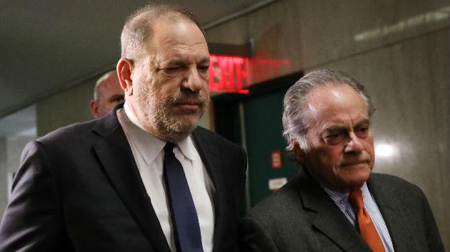 Harvey Weinstein and attorney Benjamin Brafman part ways