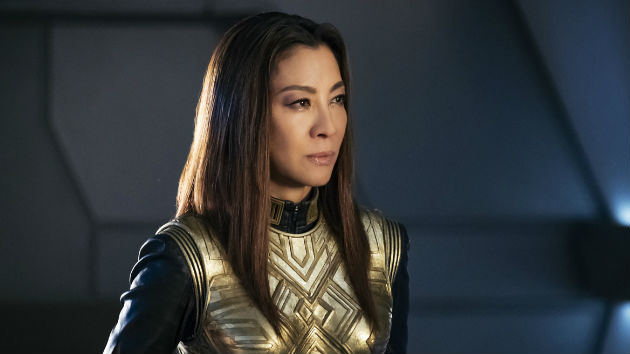 'Star Trek: Discovery' star Michelle Yeoh getting beamed aboard a spin-off series