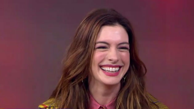 Anne Hathaway forgot her 'Serenity' lines because she got lost in co-star Matthew McConaughey's eyes
