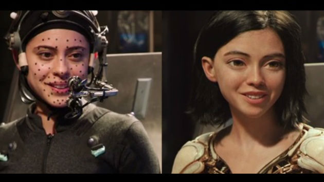 """'Alita: Battle Angel' star says seeing herself onscreen as the motion-captured title character was """"breathtaking"""" and """"really [effing] cool!"""""""