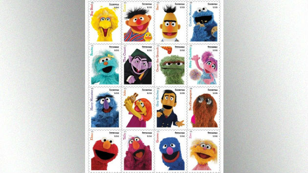 'Sesame Street' stars get the stamp(s) of approval from the U.S. Postal Service