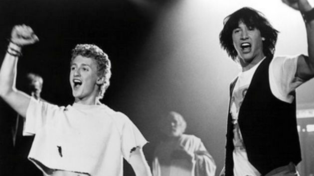 Keanu Reeves and Alex Winter announce 'Bill & Ted Face the Music' will hit theaters in August of 2020