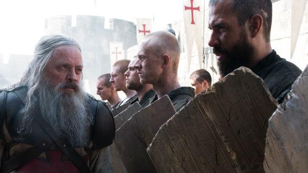 Tom Cullen talks working with childhood idol Mark Hamill on season two of 'Knightfall'
