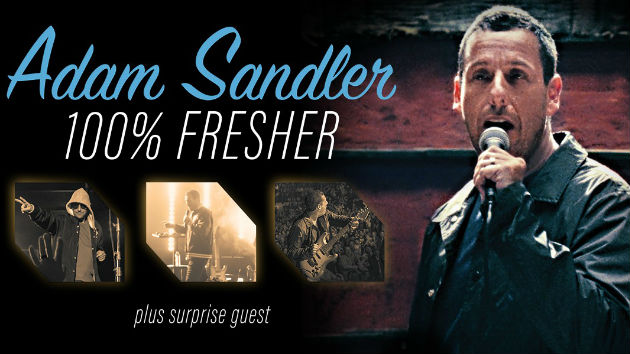 Adam Sandler hitting the road this summer with his 100% Fresher tour