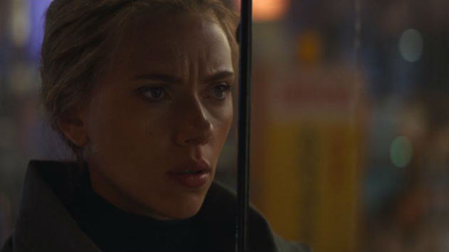 "Scarlett Johansson overjoyed she can ""finally"" reveal 'Black Widow' film"