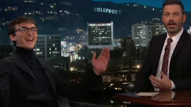 'Game of Thrones' star Isaac Hempstead Wright talks about that Night King theory on 'Jimmy Kimmel Live!'