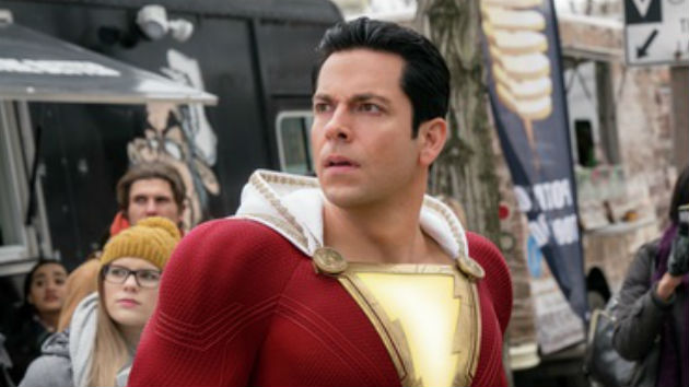 'Shazam!' star Zachary Levi hosting this year's MTV Movie & TV Awards.