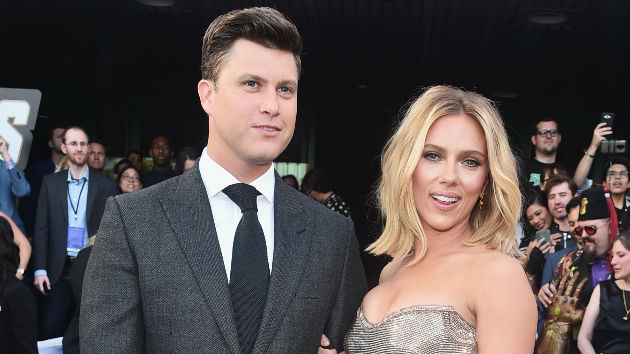 Scarlett Johansson and 'SNL' star Colin Jost are engaged