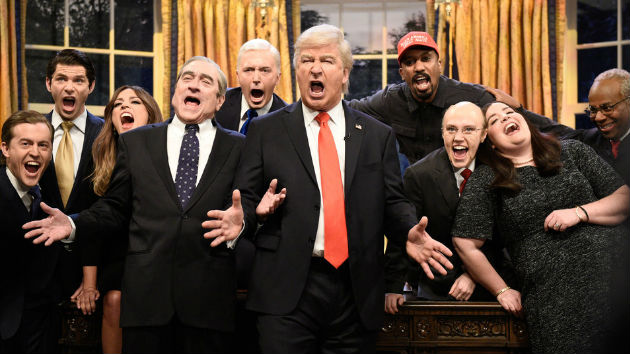 Alec Baldwin's Donald Trump closes 'SNL''s 44th season with a song about his second term