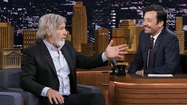 """I miss him"" -- Harrison Ford remembers Peter ""Chewbacca"" Mayhew"