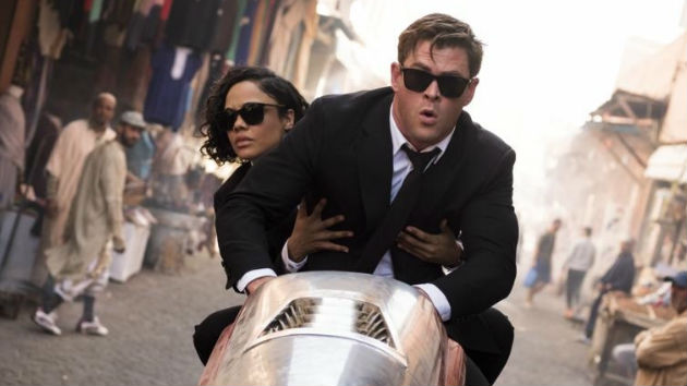 Woman in Black: Tessa Thompson is proud to bring female stardom to the 'Men in Black' franchise