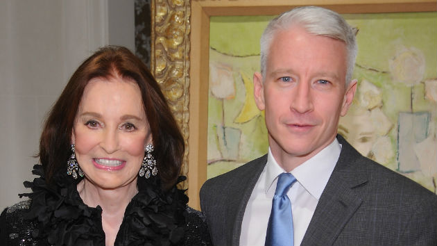 Gloria Vanderbilt dies at 95 surrounded by loved ones, son Anderson Cooper says