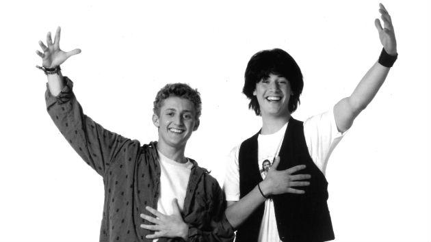 Cue air guitar riff: Alex Winter tweets that Bill & Ted's threequel is underway