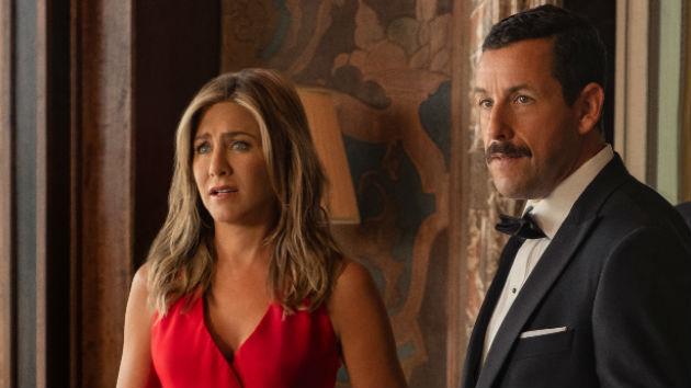 Adam Sandler and Jennifer Aniston's 'Murder Mystery' slays for Netflix