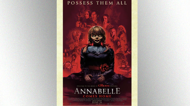 'Annabelle Comes Home' takes over theaters Wednesday