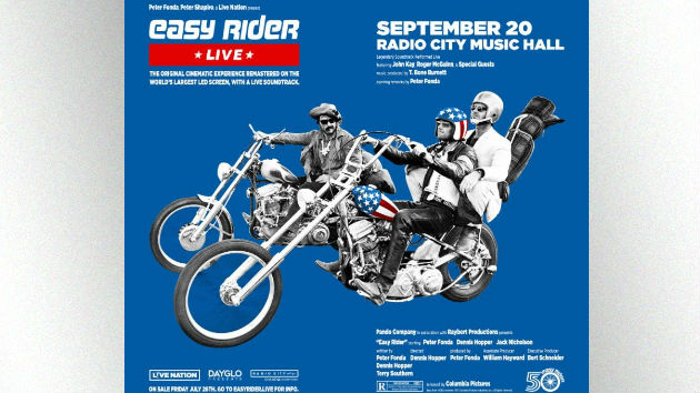 Easy Rider' to get a special Radio City Music Hall screening